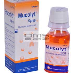 Syrup Mucolyt - 4 mg-5 ml