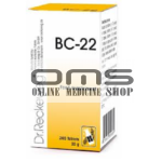BC 22 Tablet - Dr. Reckeweg, Germany